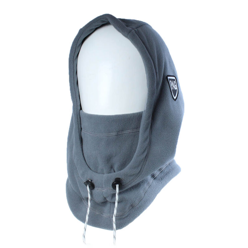 Balaclava Hooded grey
