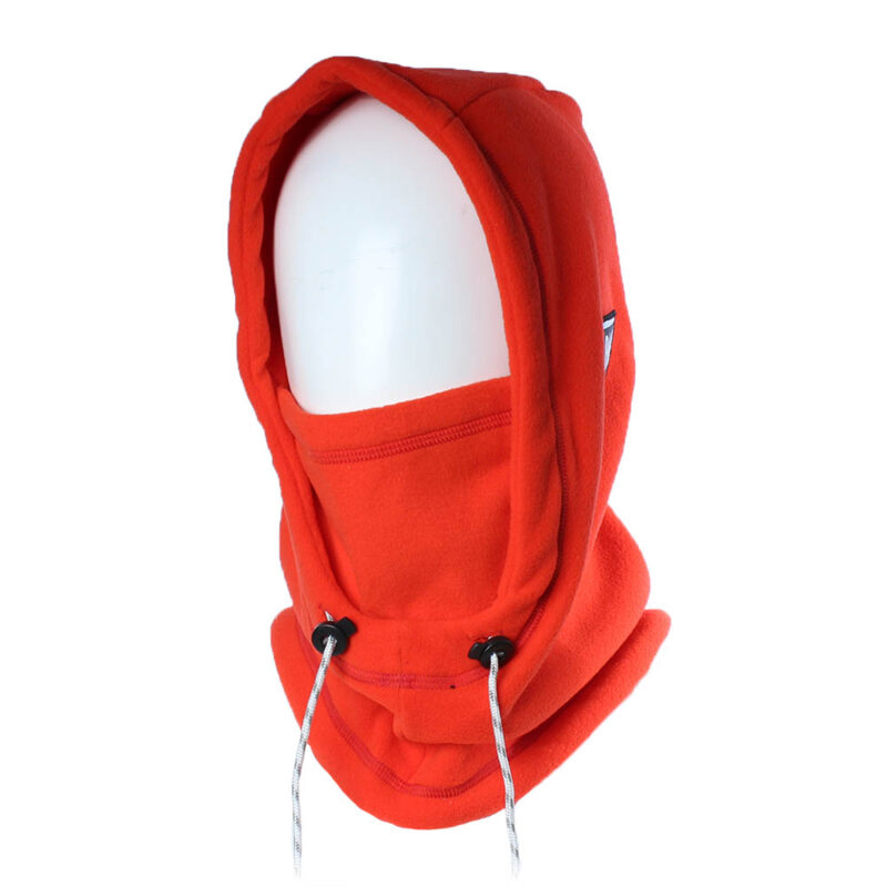 Balaclava Hooded red