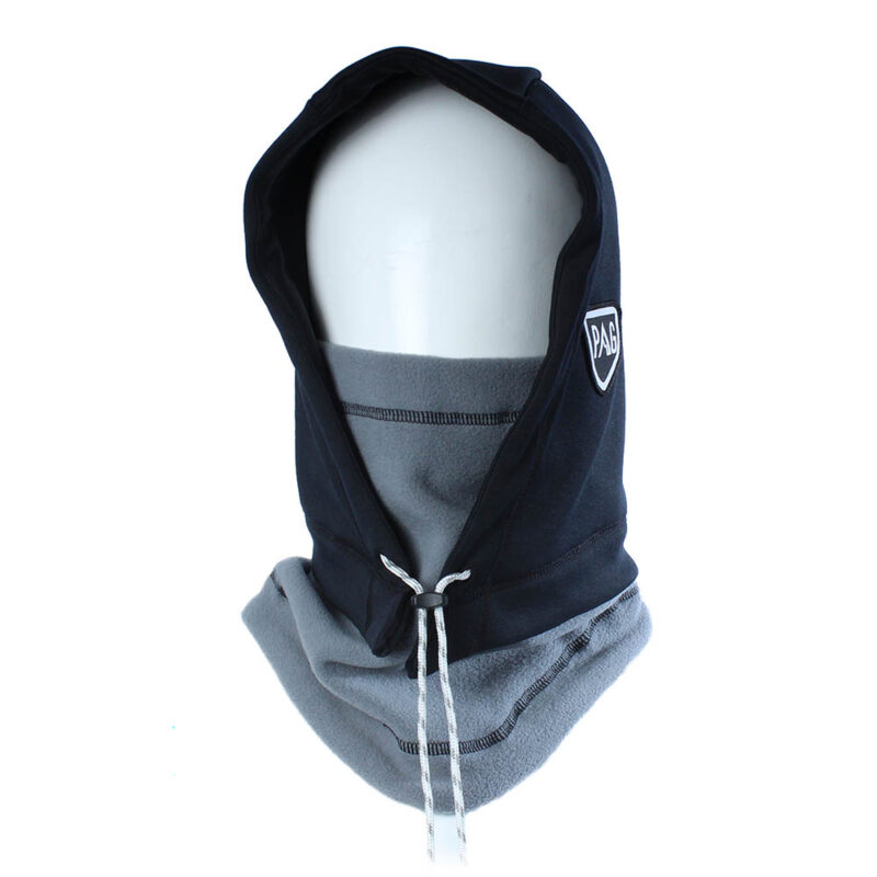 balaclava Hooded Adapt grey and water repellent black
