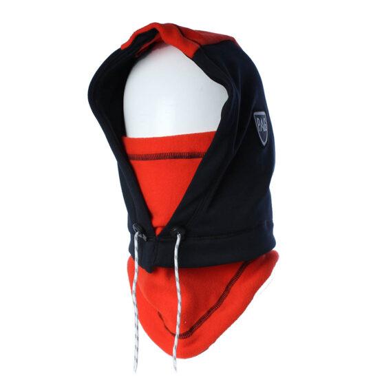 Cagoule Hooded Adapt noir déperlant rouge