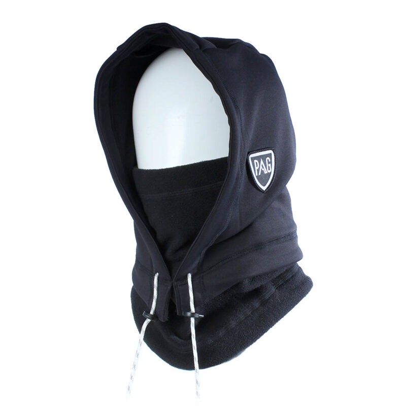 balaclava Hooded Adapt double black
