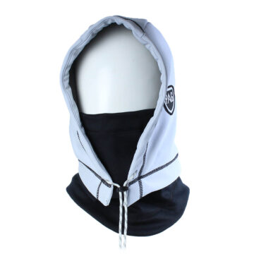 Cagoule Hooded Adapt proof blanc et noir