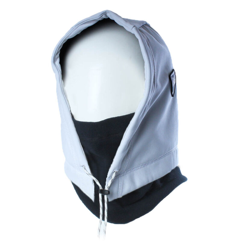 Cagoule Hooded Adapt blanc déperlant noir