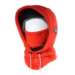 balaclava Hooded adapt xl red