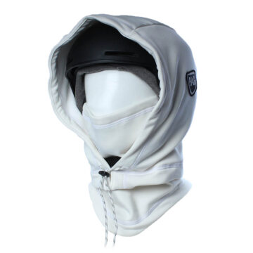 Cagoule Hooded Adapt XL blanc déperlant