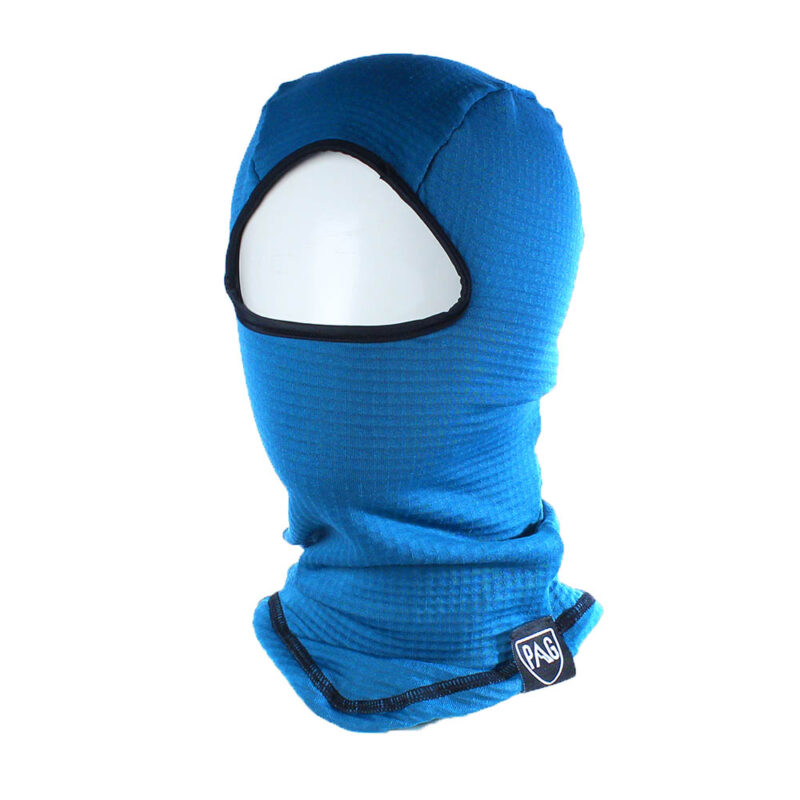 balaclava Headfirst Blue grid