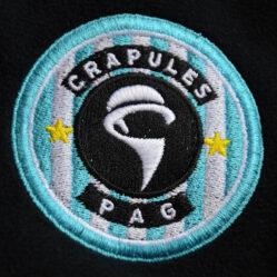 Embroidered Crapules logo
