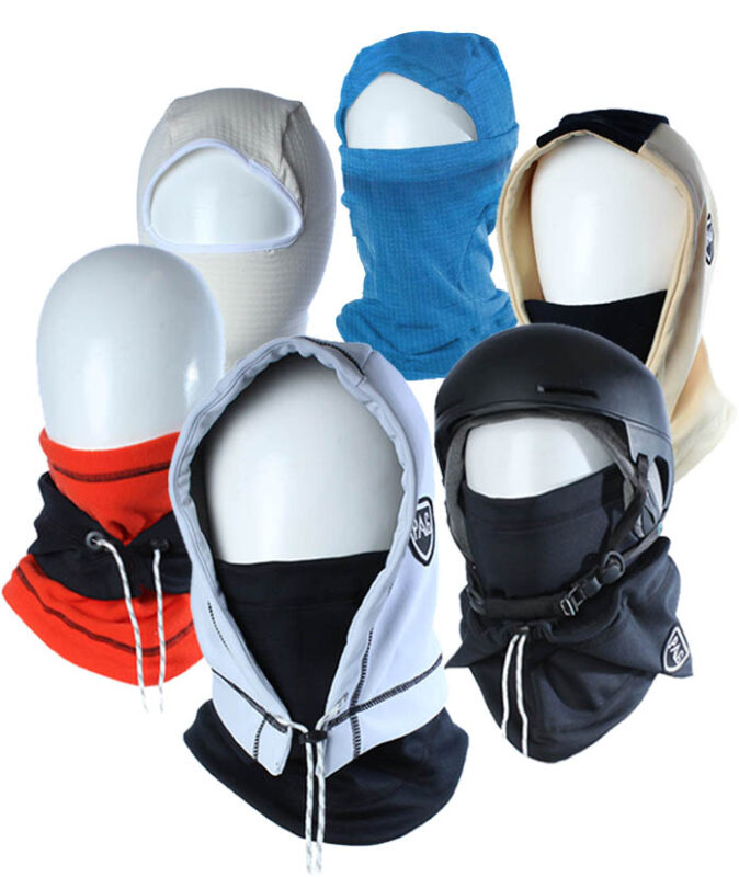 The range of PAG neckwear balaclava
